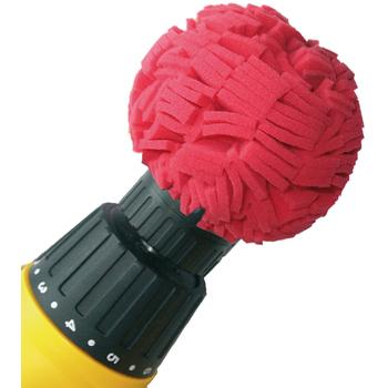 MTS Polierball Rot  ø 10.16 cm
