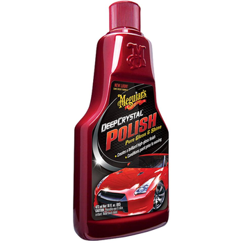 Meguiar's Deep Crystal Reine Lackpflegepolitur - Step 2 473 ml
