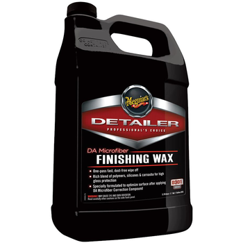 Meguiar's DA Microfiber Finishing Wax, 3.78 Liter