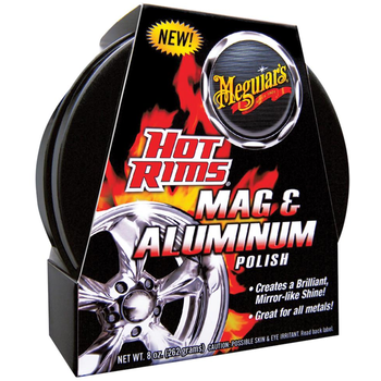Meguiar's Hot Rims Mag & Aluminum Polish, 227 ml