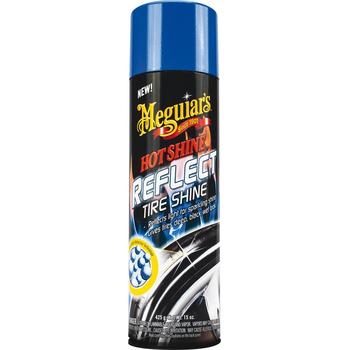 Meguiar's Hot Shine Reflect Tyre Shine, Reifenschwärzer, 425 g