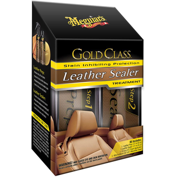 Meguiar's Gold Class Leather Sealer Kit