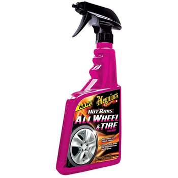 Starker Felgenreiniger für alle Arten von lackierten, eloxierten oder verchromten Felgen. Kann auch für die Reinigung der Reifen verwendet werden. Die hoch wirksamen, neutralisierenden Reinigungssubstanzen lösen Bremsstaub und Schmutz.