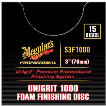Meguiar's UNIGRIT Finishing Schleifscheiben P 1000 - 75mm - Pack à 15 Stk.