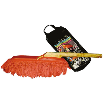 The Original California Car Duster Holzgriff, 66 cm