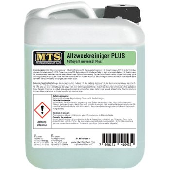 MTS Allzweckreiniger PLUS D-12, Konzentrat à 5 Liter
