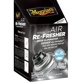 Meguiar's Whole Car Air Re-fresher – Black Chrome, 59 ml
