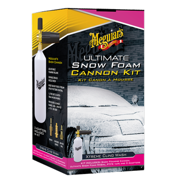 Meguiar's Ultimate Snow Foam Cannon Kit