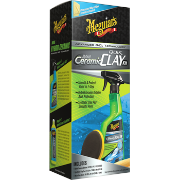 Meguiar's Hybrid Ceramic Quik Clay Kit
