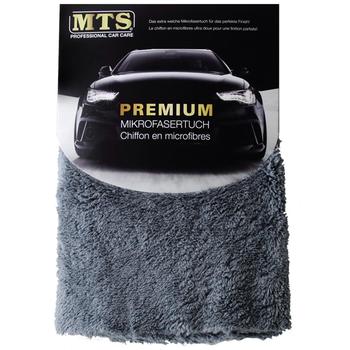 MTS Premium Mikrofasertuch, Grau, 40 x 40 cm