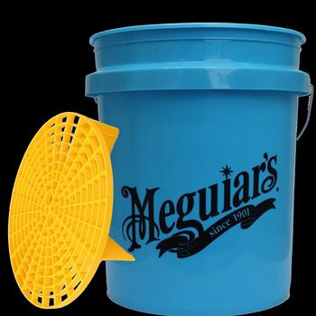 Meguiar's Wascheimer Blau & Grit Guard Volumen 18,9 Liter