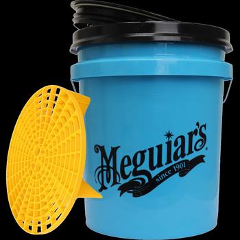 Meguiar's Wascheimer blau & Grit Guard mit Deckel
