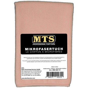 MTS Mikrofasertuch, Rosa, 40 x 40 cm