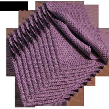 MTS Mikrofaser Waffeltuch, Violett, 40 x 40 cm, 100 Stück