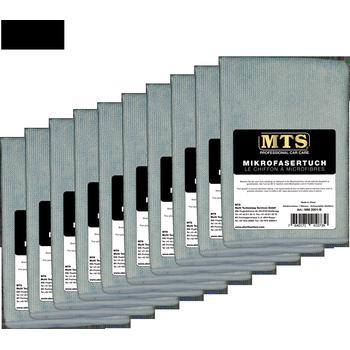 MTS Mikrofasertuch, Hellblau, 40 x 40 cm, 10-er Pack