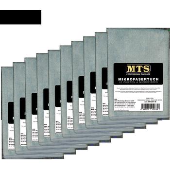 MTS Mikrofasertuch, Hellblau, 40 x 40 cm, 100-er Pack