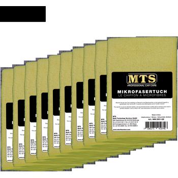 MTS Mikrofasertuch, Hellgelb, 40 x 40 cm, 100-er Pack