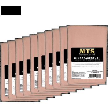MTS Mikrofasertuch, Rosa, 40 x 40 cm, 10-er Pack