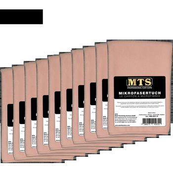 MTS Mikrofasertuch, Rosa, 40 x 40 cm, 100-er Pack