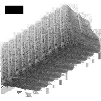 MTS Premium Mikrofastertuch, Grau, 40 x 40 cm, 10 Stück