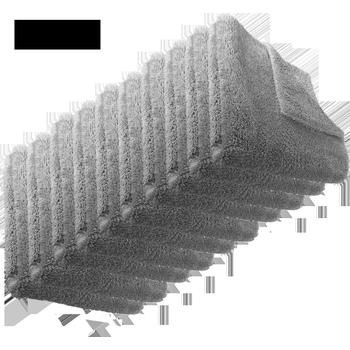 MTS Premium Mikrofasertuch, Grau, 40 x 40 cm, 100 Stück
