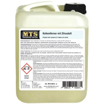MTS Kalkentferner mit Zitrusduft, 10 Liter