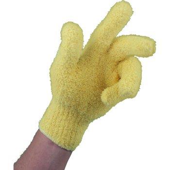 MTS Mikrofaser Fingerhandschuhe Gelb, 1 Paar