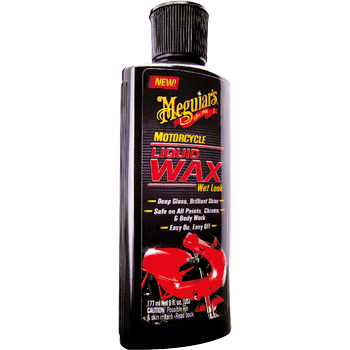 Meguiar's Motorcycle Liquid Wax, 177 ml