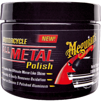 Meguiar's Motorcycle All Metal Polish, 197 g