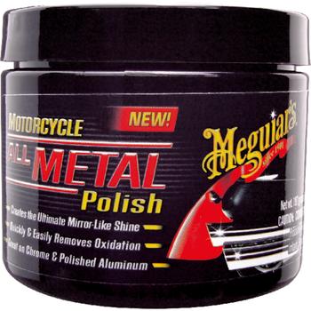Meguiar's Motorcycle All Metal Polish, 197 g