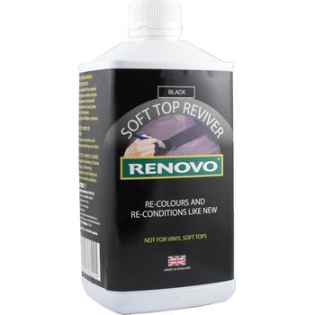 Cabrio Stoffverdeck-Auffrischer schwarz, 500 ml, Renovo