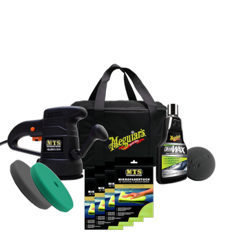 Meguiar's 1 Step Polishing Kit inkl. Excenter Poliermaschine