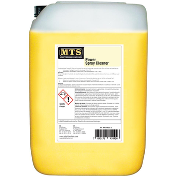 MTS Power Spray Cleaner, 25 Liter