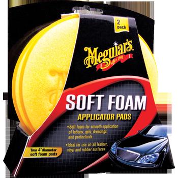 Meguiar's Soft Foam Applicator Pads, 2 Stück