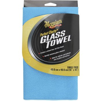 Meguiar's Perfect Clarity Glass Towel, 40 x 40 cm